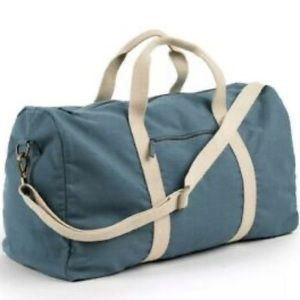 Causebox fall Known Supply Blue Cotton Weekender